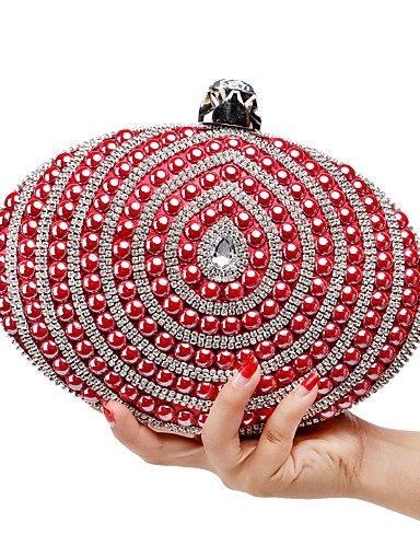 limn-t-l-west-de-la-mujer-elegante-lujo-hecho-a-mano-pearl-diamantes-la-noche-bolsa-oval-rojo
