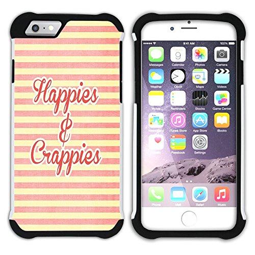Graphic4You Favorite Things In Life Englisch Zitat Nachricht Hart + Weiche Kratzfeste Hülle Case Schale Tasche Schutzhülle für Apple iPhone 6 Plus / 6S Plus Design #20