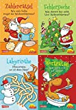 Pixi kreativ 4er-Set 18: Lustige Weihnachtsrätsel (4x1 Exemplar):...