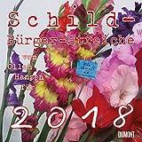 Schild-Bürger-Streiche - Kalender 2018 - DuMont-Verlag - Broschurkalender mit Platz zum Eintragen - 30 cm x 30 cm (offen 30 cm x 60 cm)