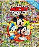 Micky - Disney - Verrückte Such-Bilder extragroß - Hardcover-Wimmelbuch für Kinder ab 3 Jahren im XXL Format