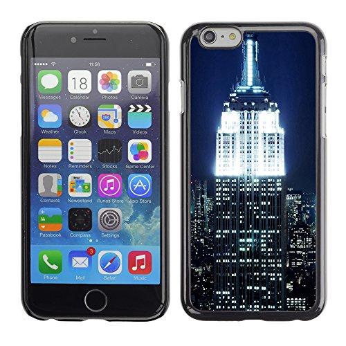 Graphic4You New York Postkarte Ansichtskarte Design Harte Hülle Case Tasche Schutzhülle für Apple iPhone 6 / 6S Design #7