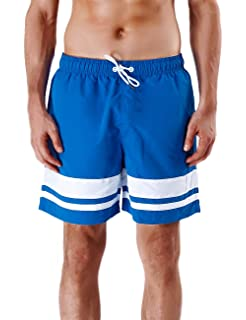 XL Cbyan Beach Trunks Mens 3D Printed Sports Shorts with Mesh Lining M XXL L