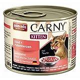 Animonda | Cat Dose Carny Kitten Rind & Putenherzen | 6 x 200 g