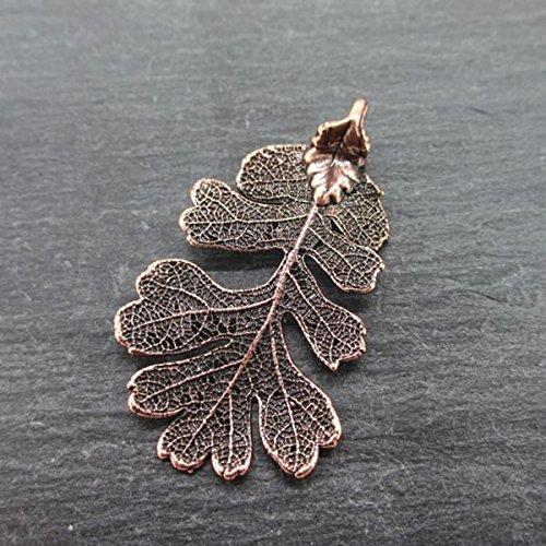feuille-de-chene-collier-femme-cuivre-antique-taille-moyenne