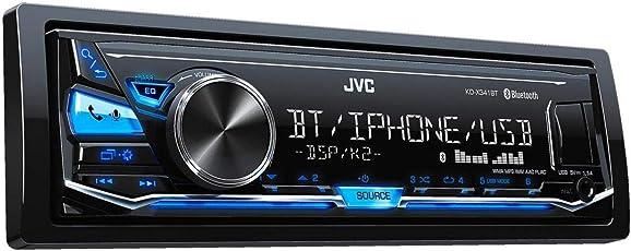 JVC KD-X341BT Digital Media-Receiver mit Freisprechfunktion und Audiostreaming über Bluetooth Schwarz