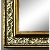 Online Galerie Bingold Spiegel Wandspiegel Badspiegel Flurspiegel Garderobenspiegel - Über 200 Größen - Verona Gold 4,4 - Außenmaß des Spiegels 30 x 30 - Wunschmaße auf Anfrage - Modern