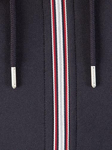 Tommy Hilfiger Core Cotton Zip Hoodie, Felpa Uomo Blu