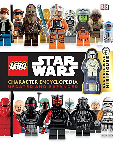 LEGO Star Wars Character Encyclopedia, Updated and Expanded: With Minifigure (Star Lego Wars Ultimate)