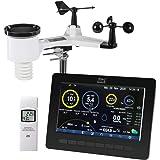 DNT WeatherScreen Pro DNT000008 Wifi-weerstation, weer- en binnenklimaat altijd onder controle, dataloggerfunctie, app