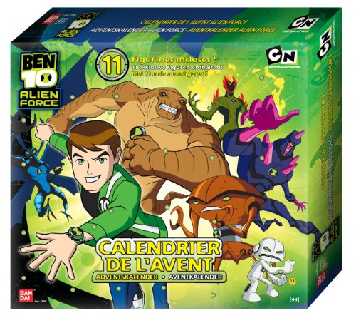 Bandai 27000 - Ben 10 Alien Force, Adventskalender Test
