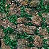 Tapeten Folie Selbstklebend NHsunray schöne edle Tapete im Steinwand Backsteinmauer Design moderne 3D Optik für Wohnzimmer, Schlafzimmer oder Küche inkl,45*200cm (1, Steine)