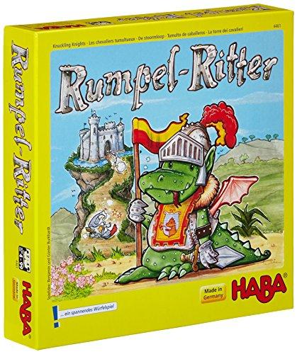 HABA-4461-Rumpelritter-Wrfelspiel HABA 4461 – Rumpelritter, Würfelspiel -