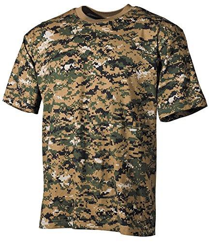 US Army T-Shirt halbarm digital-woodland S-XXXL M,Digital Woodland