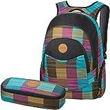 DAKINE 2er SET Laptop Rucksack Sport Schulrucksack Freizeitrucksack PROM + SCHOOL CASE Mäppchen Libby