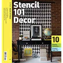 Wall Stencils 101: Customize Walls, Floors, and Furniture with Oversized Stencil Art