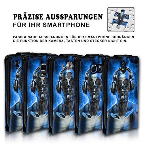 Vertical Flip Style Housse Case Étui Coque Motif cartes étui support pour Apple iPhone 4/4S–Variante ver37 Design 2