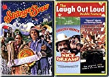Beer & Weed comedy movie Pack Cheech and Chong's Nice Dreams/Things Are Tough All Over + Strange Brew 3 films