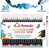 Best US Art Supply Kids Markers - Watercolour Brush Pens, Homecube 20 Colours Brush Pens Review