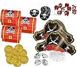 89 Teile Piraten Schatzsuche Set 8 Personen für...