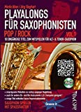 Playalongs für Saxophonisten Vol. 1 Pop / Rock - Saxophon Noten - Alt Tenor
