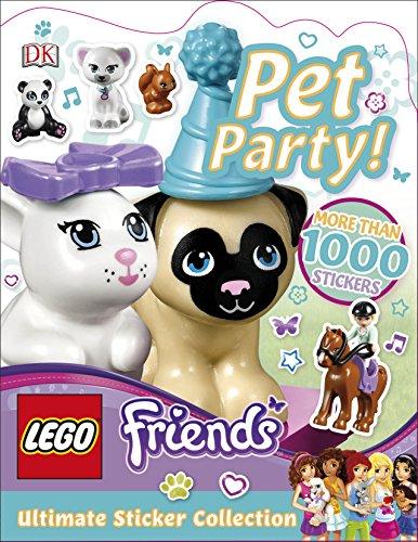 Preisvergleich Produktbild LEGO Friends Pet Party! Ultimate Sticker Collection