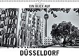 Ein Blick auf Düsseldorf (Wandkalender 2019 DIN A3 quer): Ein ungewohnter Blick auf Düsseldorf in harten Schwarz-Weiß-Bildern. (Monatskalender, 14 Seiten ) (CALVENDO Orte) - Markus W. Lambrecht