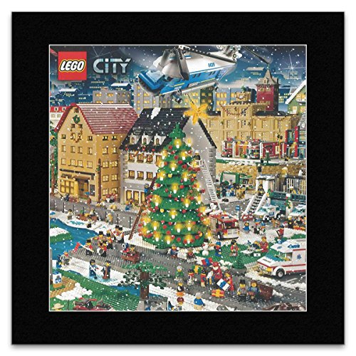 LEGO - Lego Winter City Matted Mini Poster - 28.3x27.8cm (Cars Mini Lego)