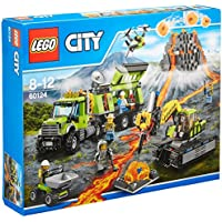 LEGO 60124 City Volcano Exploration Base Building Toy