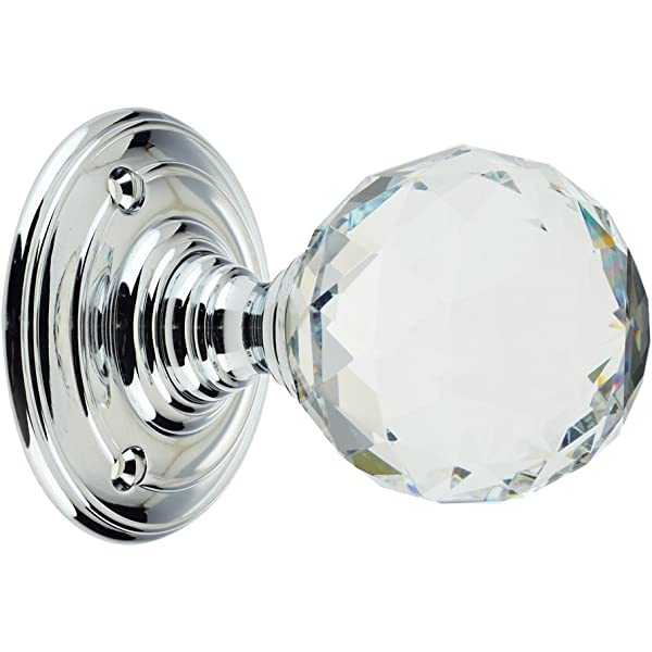 Fulton and Bray Ball Shaped and Faceted Mortice Door Knobs 50mm Various Colours