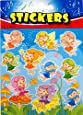 12 x Fairy Sticker sheets ~ Party Loot Bag Fillers Supplies