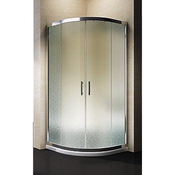 box doccia semicircolare venere 80x80 cm fai da te