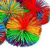 Liuer 6PCS Pelotas Antiestres Bola Antiestrés Juguetes de Estiramiento Sensorial Fidget Toy Ayuda a Reducir la Inquietud Debida al Estrés y la Ansiedad para Niños y Adultos,Color al Azar