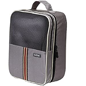 Uberlyfe Travel Storage Shoes Bags Waterproof Foldable Shoes Pouch (SB-001150-SHOEBG-GY)