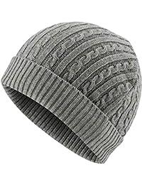 7611e488dd2b9 Amazon.co.uk: Grey - Skullies & Beanies / Hats & Caps: Clothing