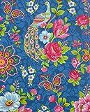 PiP Studio Tapete Flowers in the Mix, blau