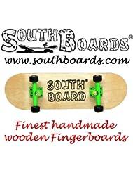 Dedo completo Skateboard N/G/Cultivadas Agua dulce las juntas del sur hecho a mano madera de palisandro madera real