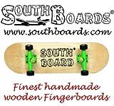 Komplett Fingerskateboard N/GR/SWZ SOUTHBOARDS® Handmade Wood Fingerboard Echtholz
