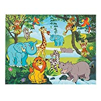 Fun Express Zoo Scene Stickers | 12 Background Sheets, 12 Sticker Sheets |