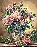Dimensions Malen-nach-Zahlen-Set Motiv: Blumen