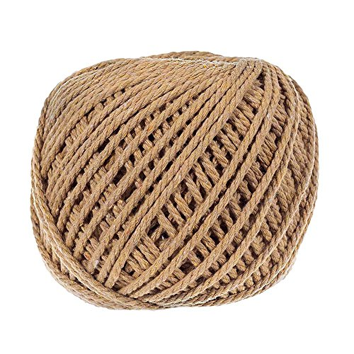 3mm Thick Cotton Rope - Several Color Options - 50 Meter - Great for Crafts, Decoration, Art, and More!