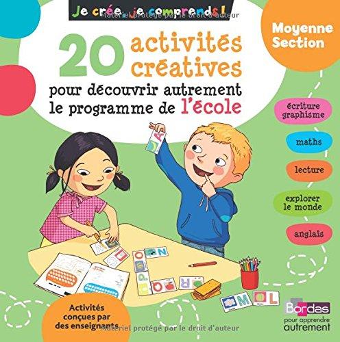 20 activités créatives pour découvrir autrement le programme de l'école moyenne section