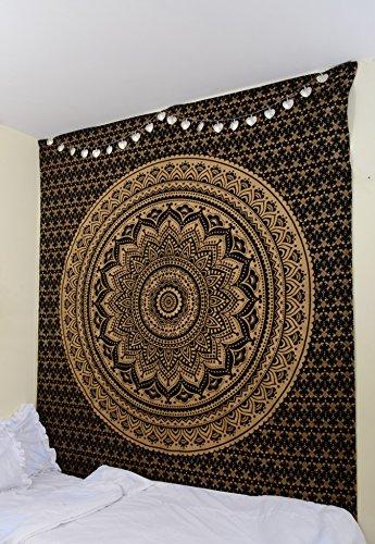 collezione-unica-originale-nero-oro-mandala-ombre-by-rawyalcrafts-hippie-indiano-tapestry-queen-mand