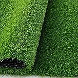 #4: Delhidirect Ultimate Quality, High Density Artificial Grass Turf For Balcony, Lawn Fake Grass,Thick Synthetic Turf, Artificial Grass Doormat, Grass Carpet Mat (6.5 * 4 Feet = 26 Sq. Feet)