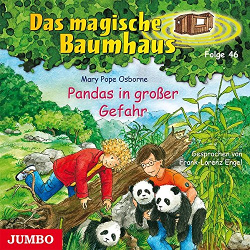 Das magische Baumhaus: Pandas in großer Gefahr (Folge 46) (Die Suche Nach Merlin)