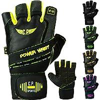 C.P. Sports Power-Wrist Handschuh, Fitness Handschuhe, Trainingshandschuh, Gewichtheben mit stabiler Bandage preisvergleich bei billige-tabletten.eu