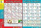 Educational Products 2-in-1-Wissen, Ihr Zahlen 1–20& Alphabet–Frühen Jahren Poster/Wandchart, mit Perforationen–60cm x 40cm