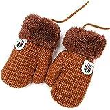 4fbf20c770 Süße Handschuhe unisex Fäustlinge Baby Mädchen Jungen Kleinkinder 1-3 Jahre  Kinderhandschuhe warm weich Winter