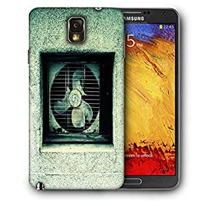 Snoogg Broken Ventilation Fan Printed Protective Phone Back Case Cover For Samsung Galaxy NOTE 3 / Note III