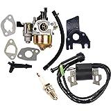 OxoxO Repalce Carburateur Bobine met Bougie voor Honda Gx160 Gx200 5hp 6.5hp Motor Generator Grasmaaier Motor